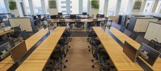 Aozora Bank, Ltd. / Okamura's Designed Workplace Showcase