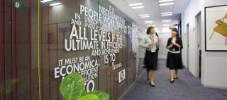 Hewlett-Packard Japan, Ltd. / Okamura's Designed Workplace Showcase