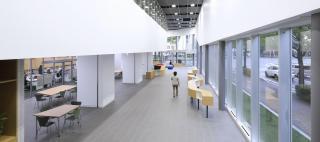Sendai Oroshisho Center / Okamura's Designed Workplace Showcase