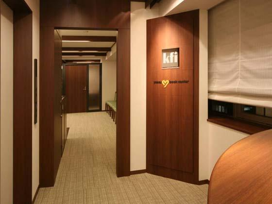 Financial Club inc./【Entrance area】Seminar entrance on 8th floor makes effective use of the elevator hall.