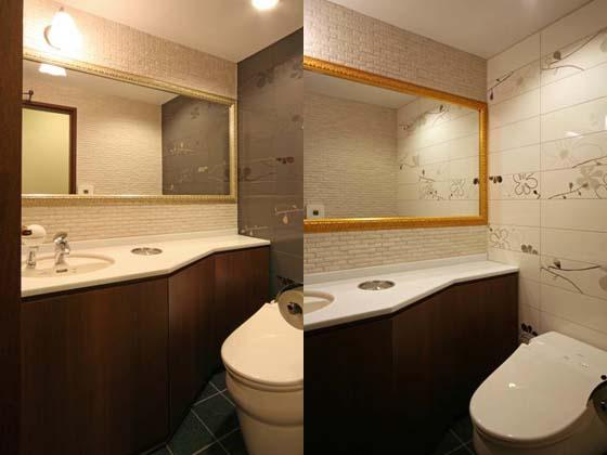 Financial Club inc./【Restrooms】The interiors are different for men and women, with both designs exuding class and hospitality.