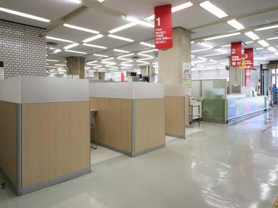 Yokohama City, Kanagawa Prefecture/【Hodogaya Ward - Consultation booth】The consultation booths take privacy into consideration.