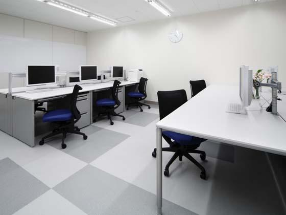 Wada Aircraft Technology Co., Ltd./【Office area】A functional frontline office.
