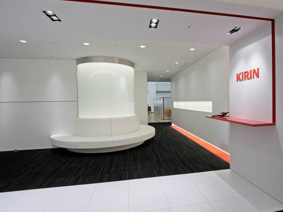 Kirin Kyowa Foods Company, Limited/【Entrance area】(Entrance area 2) The entrance leads to the lounge area.