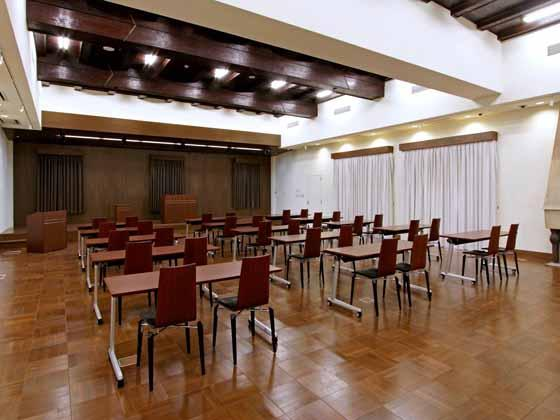 The Hokkoku Bank, Ltd./【3rd fl. Hall】The hall is used for multiple purposes.