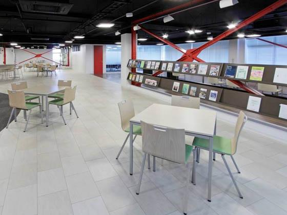 ABB Bailey Japan/【Common area】A completely different space than the offices.