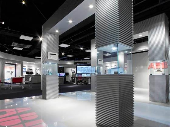 ABB Bailey Japan/【Demo room】Displays ABB Group products.