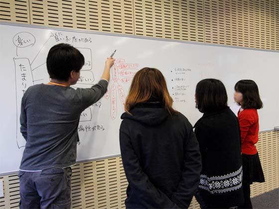 Kaetsu University/【Personal instruction-based learning】Personal instruction-based learning Individualized instruction allows students to ask their teacher when they don't understand something.