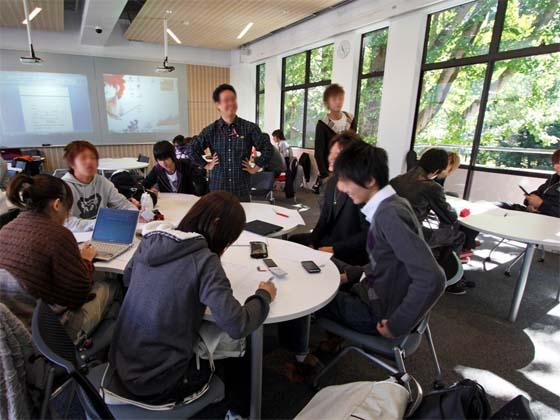 Kaetsu University/【Separate group lectures】Separate group lectures A rich learning environment surrounded by greenery.