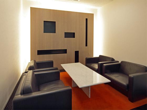 System consulting company/【Guest area】Guest room for visitors and responding to media inquiries