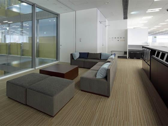 System consulting company/【Break area】There is a break space in front of the ECOVOID of each floor