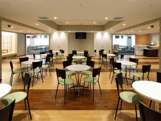 System consulting company/【Café area】Tea and coffee area that is open from breakfast time