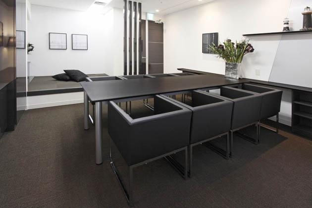 SEKISUI HEIM Chubu Co. Ltd./【Meeting room】Recreation of the eight-pattern space recommended by SEKISUI HEIM