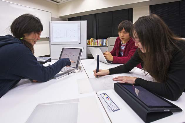 The University of Tokushima/【ICT concentrated work】Utilization of notebook computers, tablets, and digital pencils