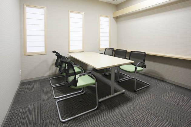 Shimizu Agricultural Cooperative/【Reception room】Furniture designed with functionality in mind