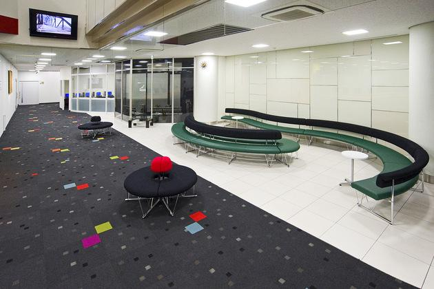 Mymy School Co., Ltd./【Relaxation space】The result is a calm, open, and relaxing space.