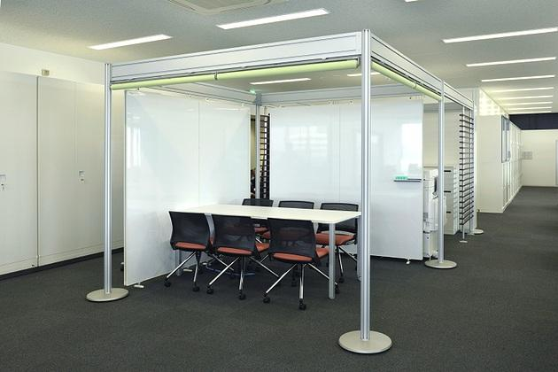 Sumitomo Wiring Systems, Ltd./【Communication area 3】A multipurpose space adjacent to the copy corner.