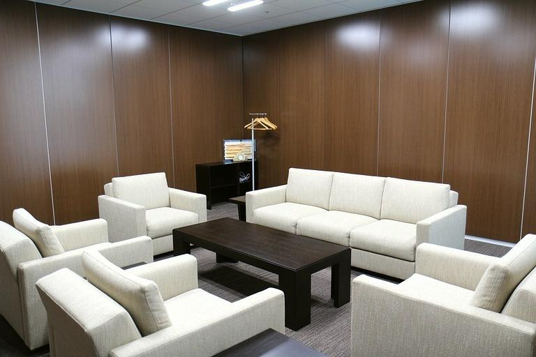 Ebara Foods Industry, Inc./【Reception room】A visitor reception room shared by group companies.
