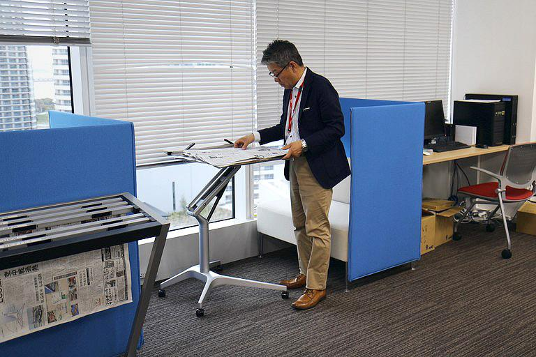 Ebara Foods Industry, Inc./【Work area: Intensive work space】Work space can be selected based on work content.