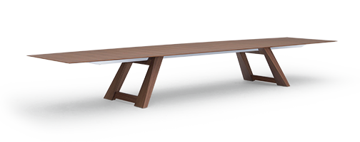 V conference table